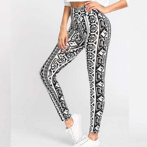 [Pre-Order 2019] African Ethnic Yoga Pants Collection