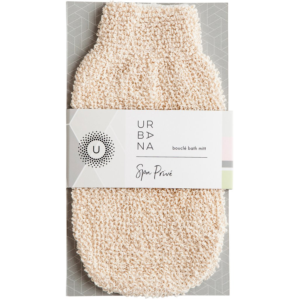 Bouclé Spa Treatment Mitts