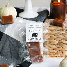 Load image into Gallery viewer, Pumpkin Spice Caramels - 4 Piece Bag