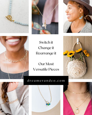 versatile images, multiple uses, ethically made, social impact, jewelry, artisan made, fair trade