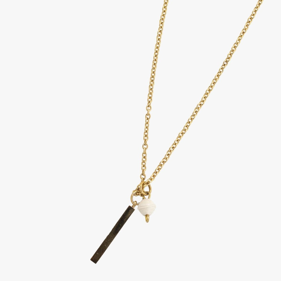 The Blank Bar Necklace