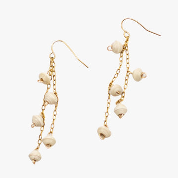 The Neima Tiny Bead Drop Earrings