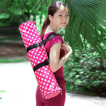 New Trendy Waterproof Yoga Mat Carrier Bags Adjustable Strap Yoga Sport Pad Backpack Pouch free shipping - yogastoreefw