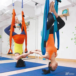 Aerial Yoga Swing Yoga Flying Hammock Antigravity Yoga Hammock full set 1*hammock+2*Expansion screw+2*lengthening+6*Handle - yogastoreefw