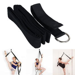 Yoga Ballet Stretch Strap Exercise Leg Stretching Strap For Physical Dance Gymnastics Fitness Workout - yogastoreefw