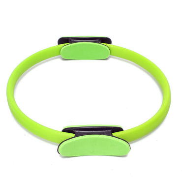 Pilates Ring Circle Resistance Exercise Workout Fitness GYM Yoga Ring Dual Band green - yogastoreefw