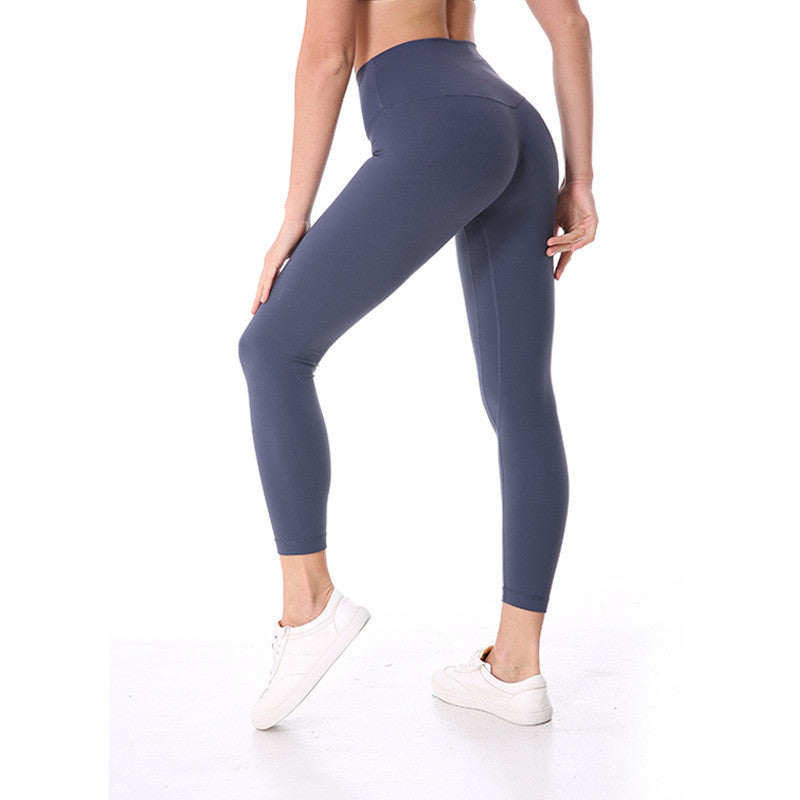 Mermaid Curve Slim Leggings Women Solid color Fitness Workout legging Elastic Ultra High Waist Pencil Pants Yoga Leggins Sports - yogastoreefw
