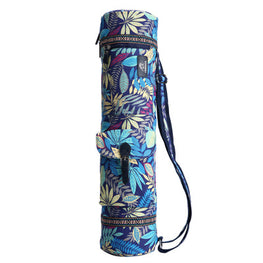 Leaves Yoga Mat Bag Sports Backpack Exercise Bag Fitness Gym Shoulder Bag Women Girls Dance Pilates Mat Package - yogastoreefw
