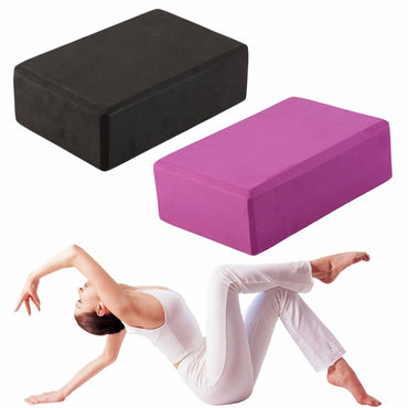 Yoga Block Exercise Fitness Sport Yoga Props Foam Brick Stretching Aid Gym Pilates - yogastoreefw