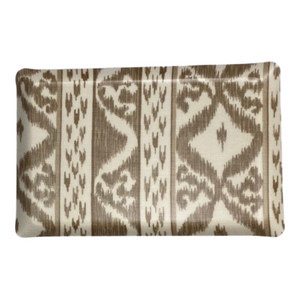 Cowtan and Tout Rapallo in Taupe Laminated Fabric Tray