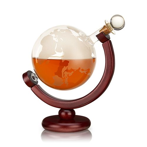 Globe liquor decanter