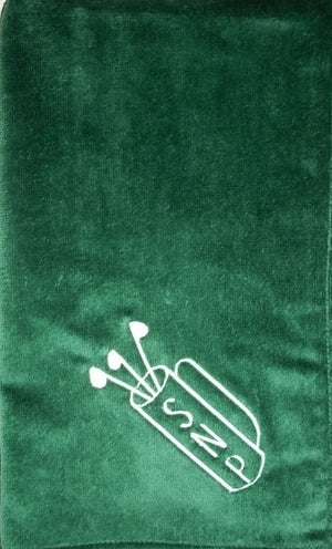 Personalized Golf Towel with Grommet