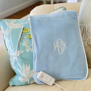 Monogrammed Personalized Heating Pad Cover