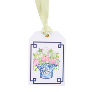 Topiary Gift Tags with Satin Ribbons - 8 per package