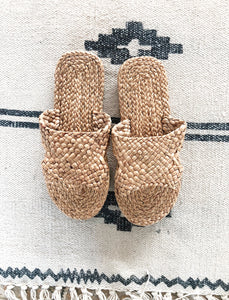 Rigel Sandals.  Natural Slippers