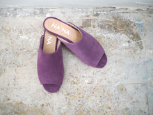 Load image into Gallery viewer, Alnitak  Lilac suede Leather