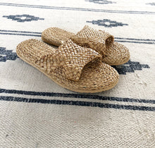Load image into Gallery viewer, Rigel Sandals.  Natural Slippers