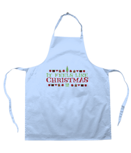 Load image into Gallery viewer, Film Stories 'It Feels Like Christmas' Apron