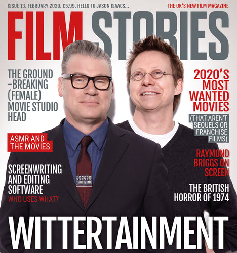 Film Stories issue 13 (February 2020) - print edition [BACK IN STOCK FROM 3RD FEB]