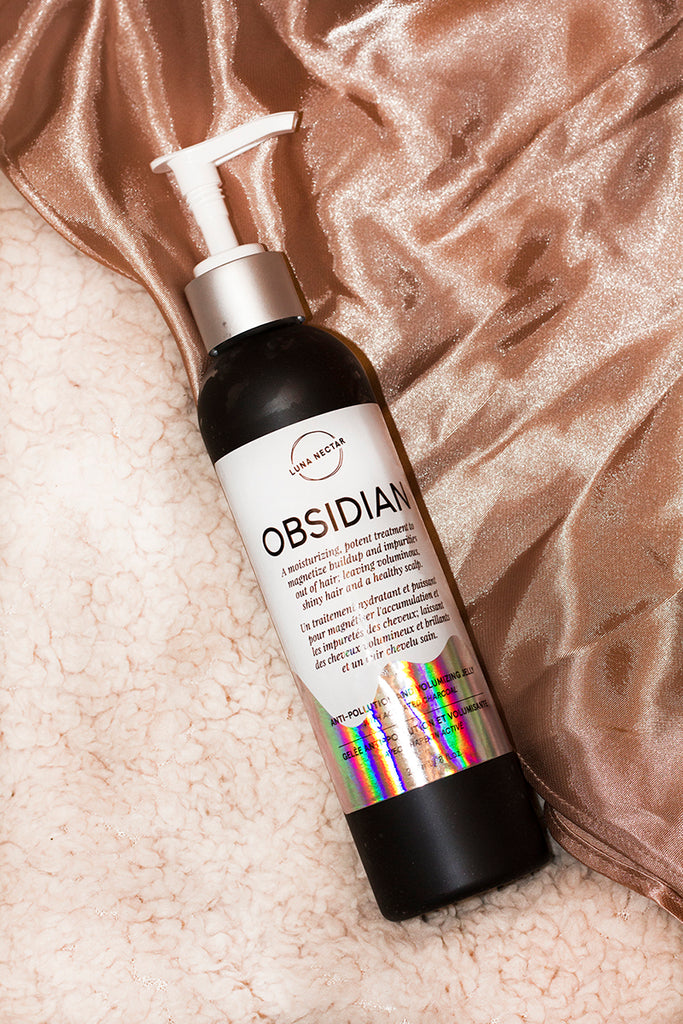 Obsidian Volumizing & Anti-Pollution Hair Jelly