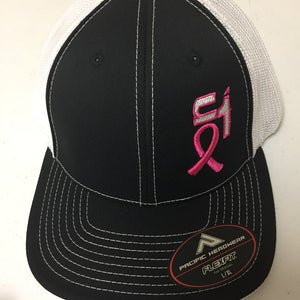 Black & White w/ Breast Cancer ON1 Logo