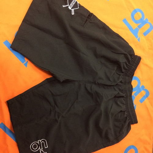 2018 Black 4 Way Stretch Shorts