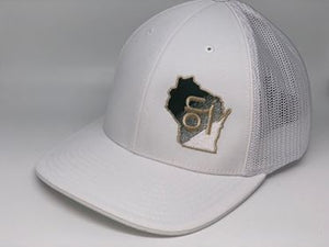 White w/ Milwaukee Bucks ON1 Fade