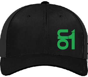 Black with Green ON1 Logo
