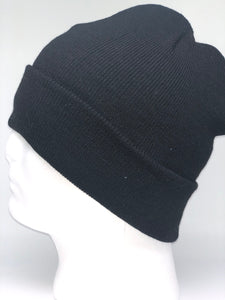 621K Black Winter Beanie