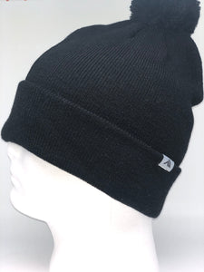 641K Black Winter Beanie