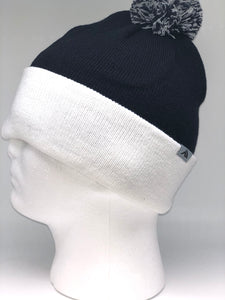 641K Navy & White Winter Beanie