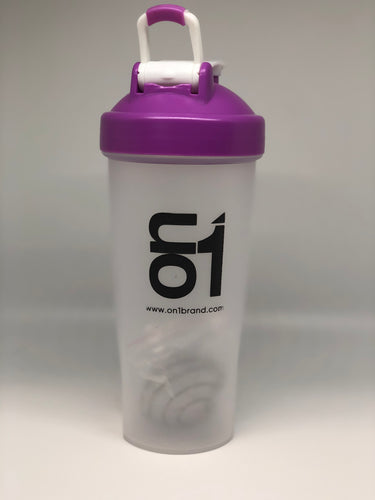 Purple Shaker Bottle