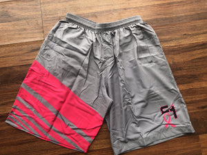 Breast Cancer Full Dye Shorts