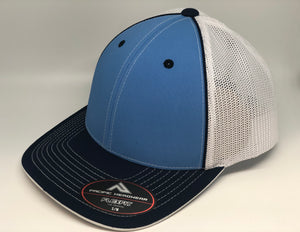 Carolina Crown, Navy Brim, White Mesh