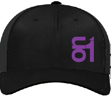 Black with Purple ON1 Logo