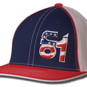 Red, White & Blue w/ American Flag ON1 Logo