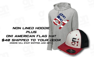 ON1 Non Lined Hoodie + ON1 Hat Combo