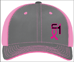 Graphite & Pink w/ Breast Cancer ON1 Logo