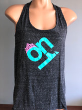 Black w/ Teal Pink ON1 Logo