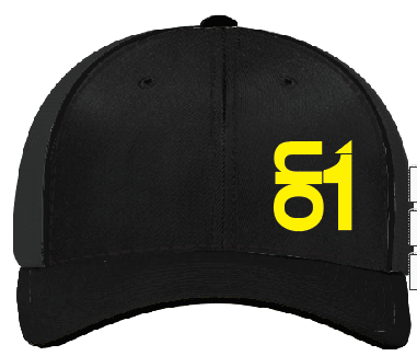 Black with Yellow ON1 Logo