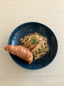 Aglio Olio with Smoked Chicken Pasta
