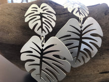 Load image into Gallery viewer, Palm leaf earrings-handmade