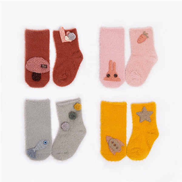 Cute Pattern Design Winter Socks for Baby