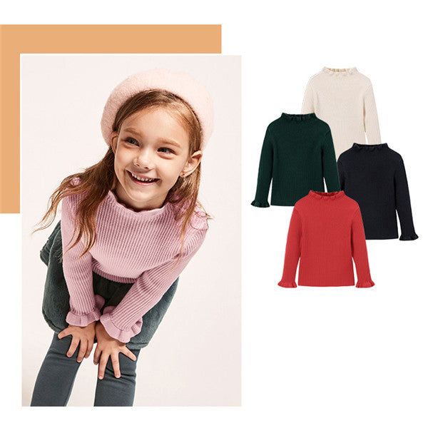 Trendy Knitted Sweater for Girls