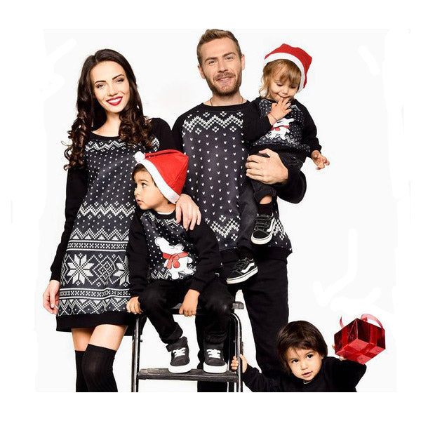 Long Sleeve Family Matching sweater
