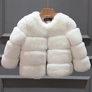 Plush Faux Fur Outerwear
