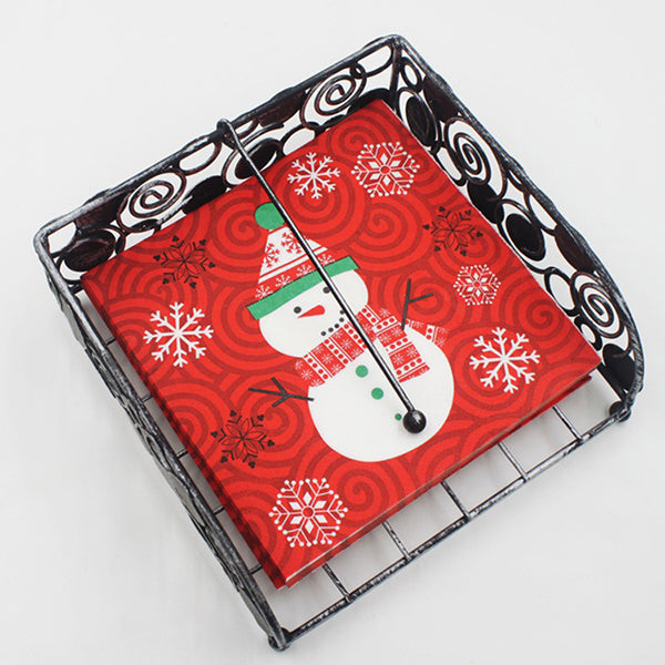 Christmas Printed Tissue Paper -- 20 sheets