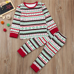 Christmas Family Matching Pajamas Set For Kids