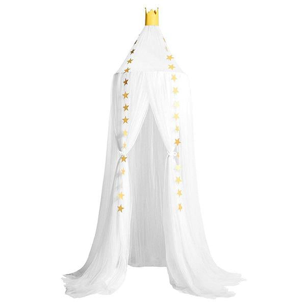 Bed Canopy Mosquito Valance Net Curtains Castle for Kids