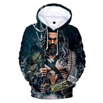 Aquaman Long Sleeve Hoodies For Kids and Adults